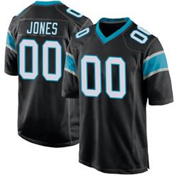 DaQuan Jones Carolina Panthers Game Men's Team Color Jersey (Black)
