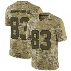 Damion Jeanpiere Jr. Carolina Panthers Limited Men's 2018 Salute to Service Jersey (Camo)