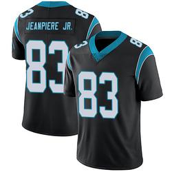 Damion Jeanpiere Jr. Carolina Panthers Limited Men's Team Color Vapor Untouchable Jersey (Black)