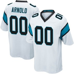 Dan Arnold Carolina Panthers Game Men's Jersey (White)