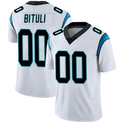 Daniel Bituli Carolina Panthers Limited Men's Vapor Untouchable Jersey (White)