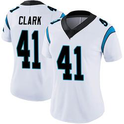 Darius Clark Carolina Panthers Limited Women's Vapor Untouchable Jersey (White)