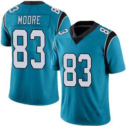 David Moore Carolina Panthers Limited Men's Alternate Vapor Untouchable Jersey (Blue)