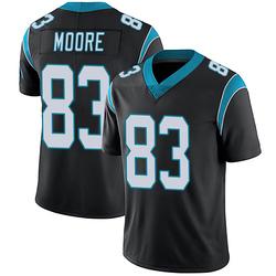 David Moore Carolina Panthers Limited Men's Team Color Vapor Untouchable Jersey (Black)