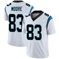David Moore Carolina Panthers Limited Men's Vapor Untouchable Jersey (White)