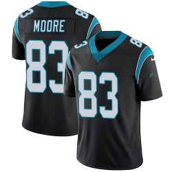 David Moore Carolina Panthers Limited Youth Team Color Vapor Untouchable Jersey (Black)