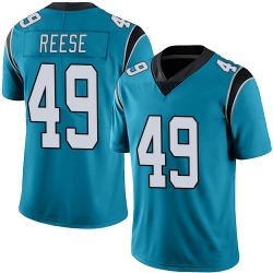 David Reese Carolina Panthers Limited Men's Alternate Vapor Untouchable Jersey (Blue)