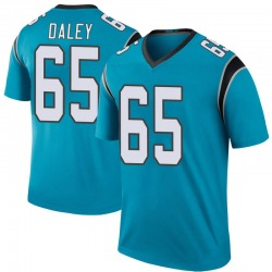 Dennis Daley Carolina Panthers Legend Men's Color Rush Jersey (Blue)