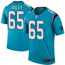 Dennis Daley Carolina Panthers Legend Youth Color Rush Jersey (Blue)