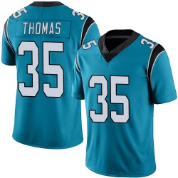 Derrek Thomas Carolina Panthers Limited Men's Alternate Vapor Untouchable Jersey (Blue)