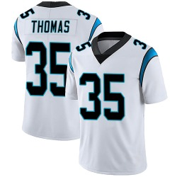 Derrek Thomas Carolina Panthers Limited Men's Vapor Untouchable Jersey (White)