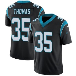 Derrek Thomas Carolina Panthers Limited Youth Team Color Vapor Untouchable Jersey (Black)