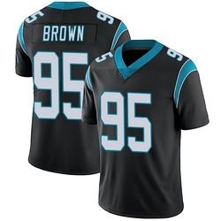 Derrick Brown Carolina Panthers Limited Men's Team Color Vapor Untouchable Jersey (Black)