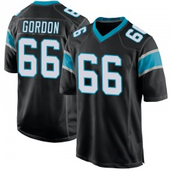 Dillon Gordon Carolina Panthers Game Men's Team Color Jersey (Black)