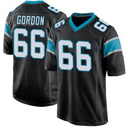 Dillon Gordon Carolina Panthers Game Youth Team Color Jersey (Black)