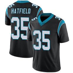 Dominique Hatfield Carolina Panthers Limited Men's Team Color Vapor Untouchable Jersey (Black)