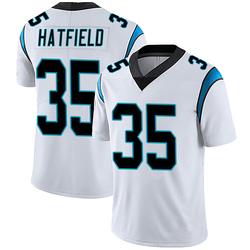 Dominique Hatfield Carolina Panthers Limited Men's Vapor Untouchable Jersey (White)