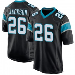 Donte Jackson Carolina Panthers Game Men's Team Color Jersey (Black)