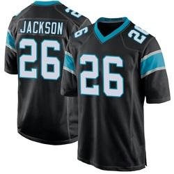 Donte Jackson Carolina Panthers Game Youth Team Color Jersey (Black)