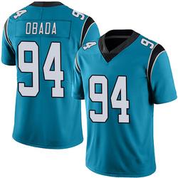Efe Obada Carolina Panthers Limited Men's Alternate Vapor Untouchable Jersey (Blue)