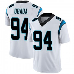 Efe Obada Carolina Panthers Limited Men's Vapor Untouchable Jersey (White)