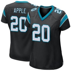 Eli Apple Carolina Panthers Game Women's Team Color Jersey (Black)