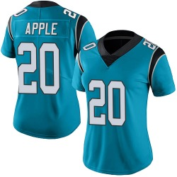 Eli Apple Carolina Panthers Limited Women's Alternate Vapor Untouchable Jersey (Blue)