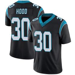Elijah Hood Carolina Panthers Limited Men's Team Color Vapor Untouchable Jersey (Black)