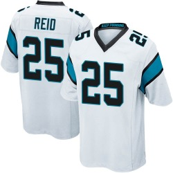 Eric Reid Carolina Panthers Game Men's Jersey (White)