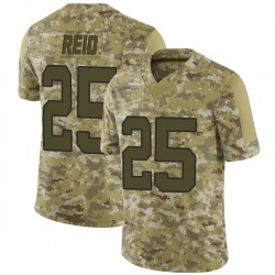 Eric Reid Carolina Panthers Limited Men's 2018 Salute to Service Jersey (Camo)
