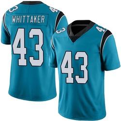 Fozzy Whittaker Carolina Panthers Limited Men's Alternate Vapor Untouchable Jersey (Blue)