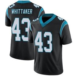 Fozzy Whittaker Carolina Panthers Limited Men's Team Color Vapor Untouchable Jersey (Black)
