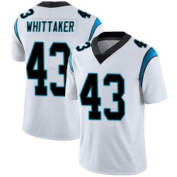 Fozzy Whittaker Carolina Panthers Limited Men's Vapor Untouchable Jersey (White)