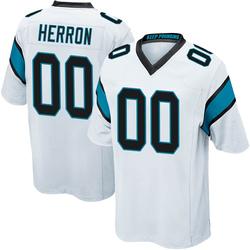 Frank Herron Carolina Panthers Game Youth Jersey (White)