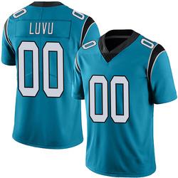 Frankie Luvu Carolina Panthers Limited Men's Alternate Vapor Untouchable Jersey (Blue)
