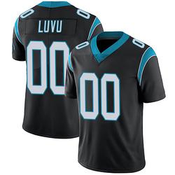 Frankie Luvu Carolina Panthers Limited Men's Team Color Vapor Untouchable Jersey (Black)