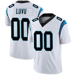 Frankie Luvu Carolina Panthers Limited Men's Vapor Untouchable Jersey (White)
