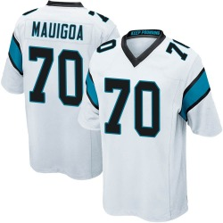 Frederick Mauigoa Carolina Panthers Game Youth Jersey (White)