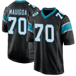 Frederick Mauigoa Carolina Panthers Game Youth Team Color Jersey (Black)