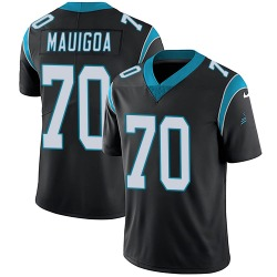 Frederick Mauigoa Carolina Panthers Limited Youth Team Color Vapor Untouchable Jersey (Black)
