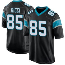 Giovanni Ricci Carolina Panthers Game Youth Team Color Jersey (Black)