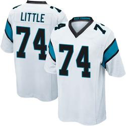 Greg Little Carolina Panthers Game Men's Jersey (White)