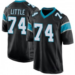 Greg Little Carolina Panthers Game Men's Team Color Jersey (Black)