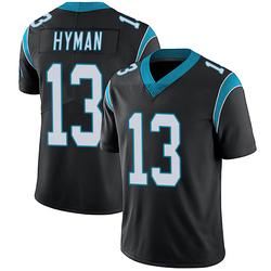 Ishmael Hyman Carolina Panthers Limited Men's Team Color Vapor Untouchable Jersey (Black)