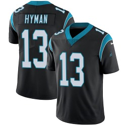 Ishmael Hyman Carolina Panthers Limited Youth Team Color Vapor Untouchable Jersey (Black)