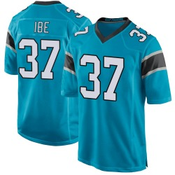 J.T. Ibe Carolina Panthers Game Men's Alternate Jersey (Blue)