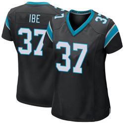 J.T. Ibe Carolina Panthers Game Women's Team Color Jersey (Black)