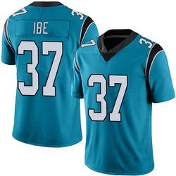 J.T. Ibe Carolina Panthers Limited Men's Alternate Vapor Untouchable Jersey (Blue)
