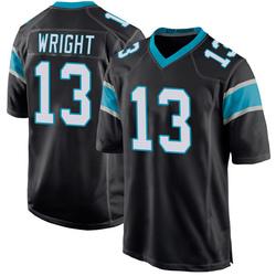 Jarius Wright Carolina Panthers Game Men's Team Color Jersey (Black)