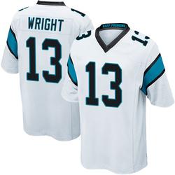 Jarius Wright Carolina Panthers Game Youth Jersey (White)